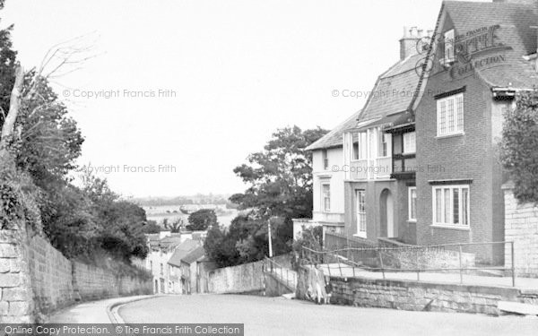 Photo of Langport, The Hill c.1955
