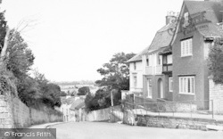 The Hill c.1955, Langport
