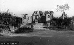 The Memorial c.1965, Langport