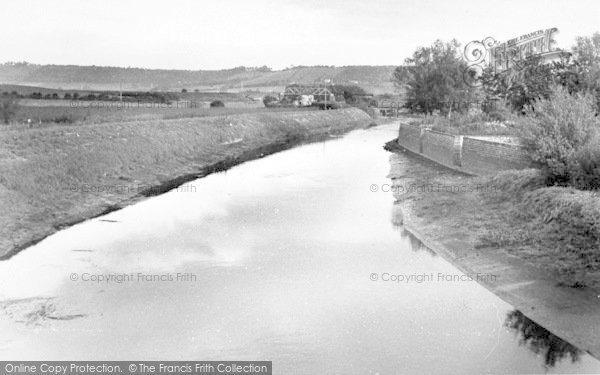 Photo of Langport, The River c.1955
