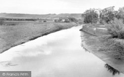 Langport, The River c.1955