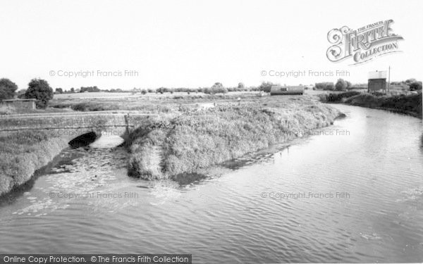 Photo of Langport, The River c.1960