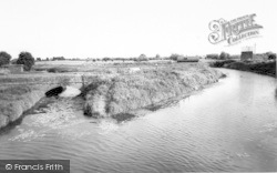 Langport, The River c.1960