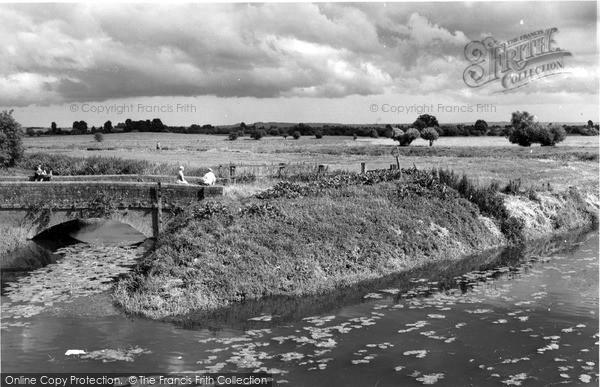 Photo of Langport, The River Parrett c.1960
