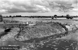 The River Parrett c.1960, Langport