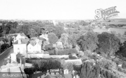 Langport, View From All Saints Church c.1965
