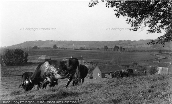 Photo of Langport, View From Taunton Road c.1955