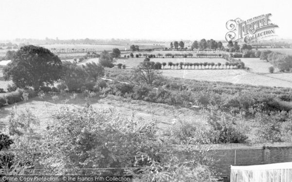 Photo of Langport, View From The Church c.1955