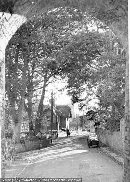 Photo of Langport, View From The Hanging Chapel c.1955
