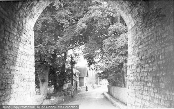 Photo of Langport, View From The Hanging Chapel c.1960