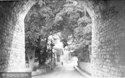 Langport, View From The Hanging Chapel c.1960