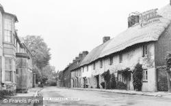 Langstone, Old Cottages c.1955