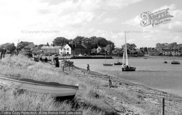 Photo of Langstone, The Harbour c.1955