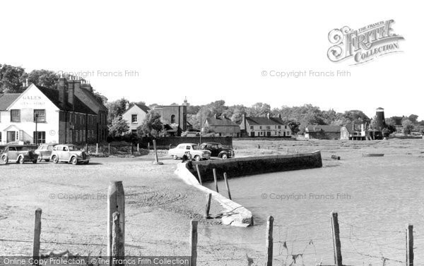 Photo of Langstone, The Harbourside c.1955