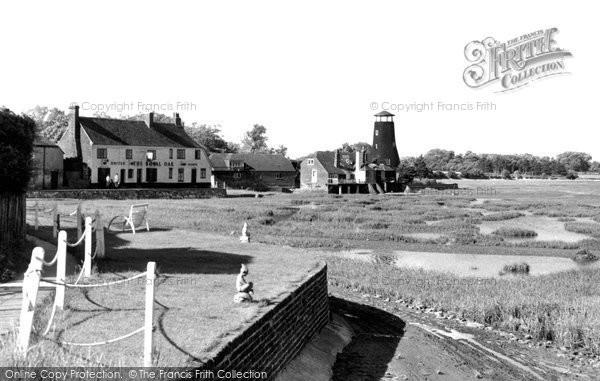 Photo of Langstone, The Harbourside c.1955