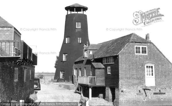 Photo of Langstone, The Old Mill c.1955