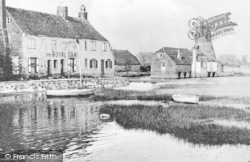 The Royal Oak And Mill c.1900, Langstone