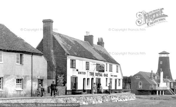 Photo of Langstone, The Royal Oak And The Mill c.1955