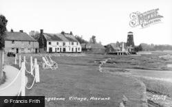 Langstone, Village c.1955