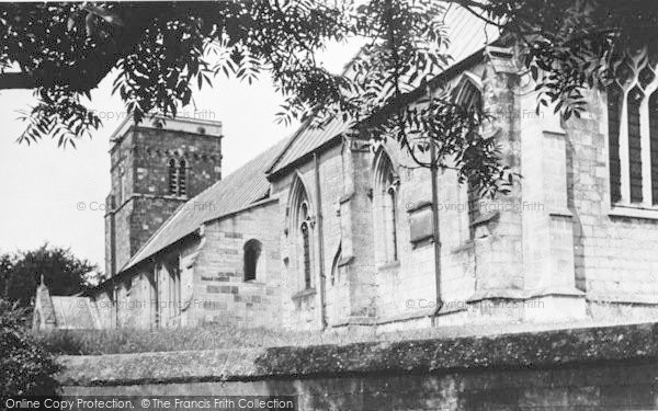 Photo of Langtoft, The Church c.1955
