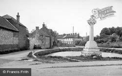 The War Memorial c.1955, Langtoft