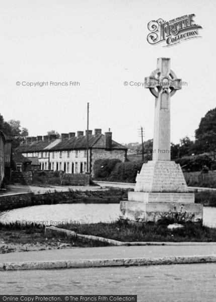 Photo of Langtoft, The War Memorial c.1955