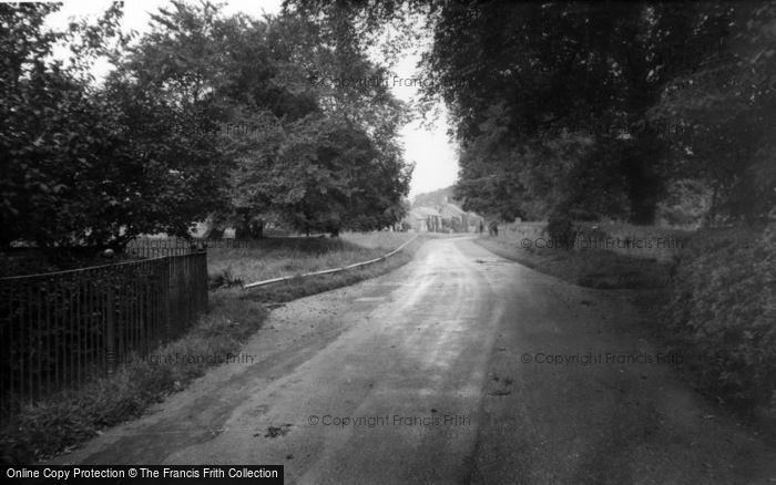 Photo of Langton, A Pretty Lane c.1960