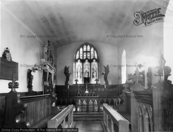 Photo of Langton, Church Interior c.1960