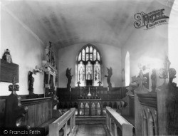Langton, Church Interior c.1960
