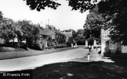 Langton, Entrance Gates To Langton Hall c.1965