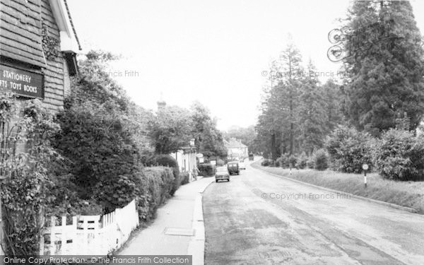 Photo of Langton Green, Main Road c.1960
