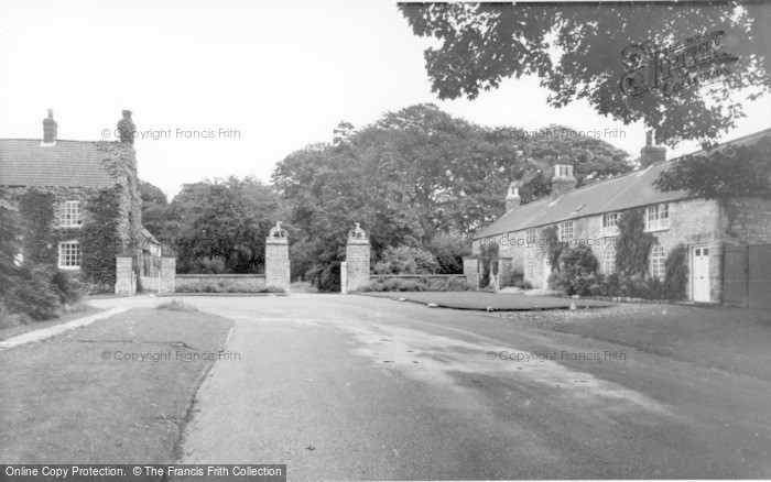 Photo of Langton, Hall Gates c.1960