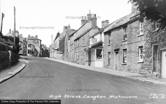Photo of Langton Matravers, High Street c.1960
