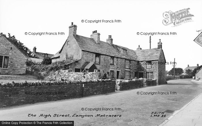 Photo of Langton Matravers, High Street c.1965