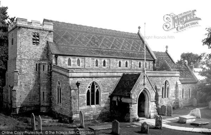 Photo of Langton Matravers, St George's Church c.1965