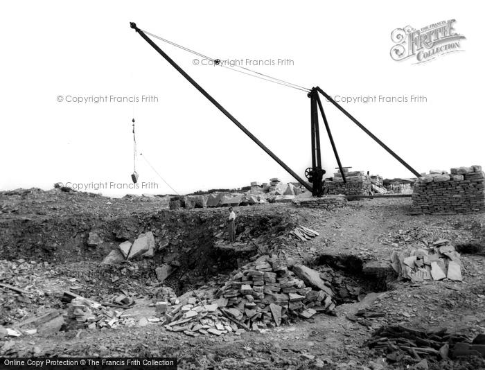 Photo of Langton Matravers, The Quarry c.1955