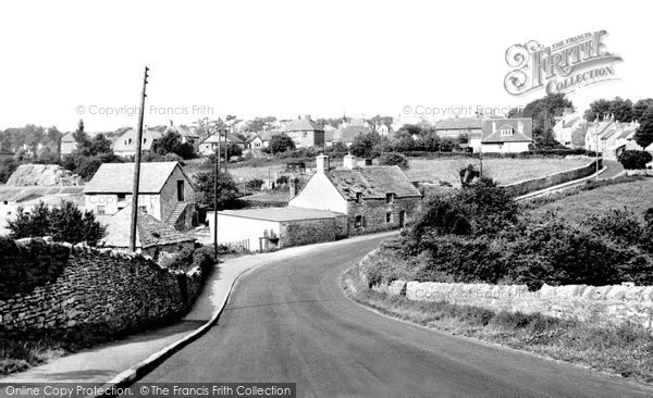 Photo of Langton Matravers, The Village c.1960