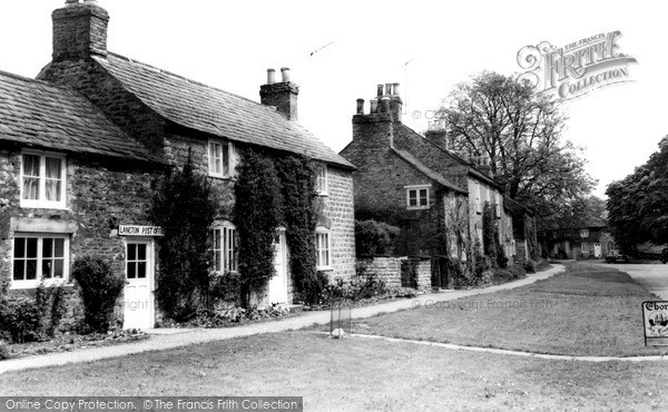 Photo of Langton, Post Office And Village c.1960