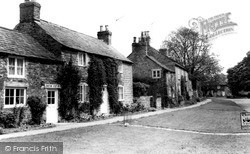 Langton, Post Office And Village c.1960