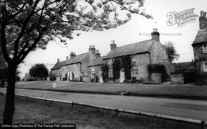 Photo of Langton, Post Office And Village c.1965