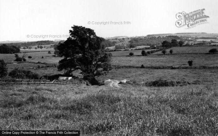 Photo of Langton, The Hills Towards Birdsall Brow And Joisland c.1965