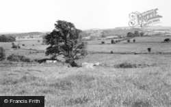 Langton, The Hills Towards Birdsall Brow And Joisland c.1965