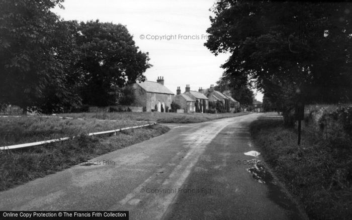 Photo of Langton, The Village And Green c.1960