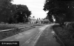 Langton, The Village And Green c.1960