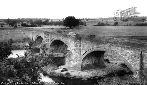 Photo of Langwathby, The Bridge c.1960