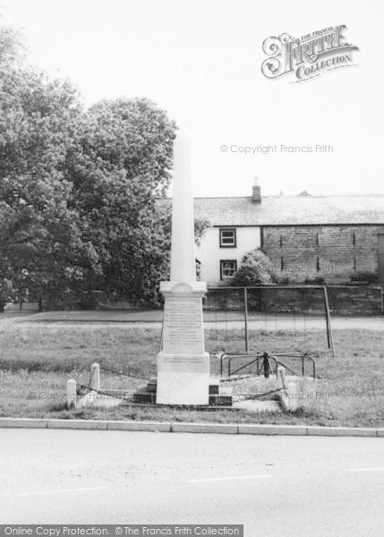 Photo of Langwathby, The Memorial c.1960