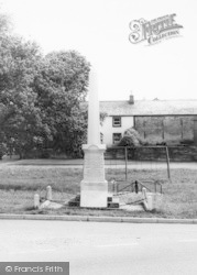 The Memorial c.1960, Langwathby