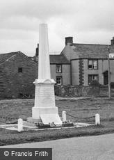 Langwathby, War Memorial c1950