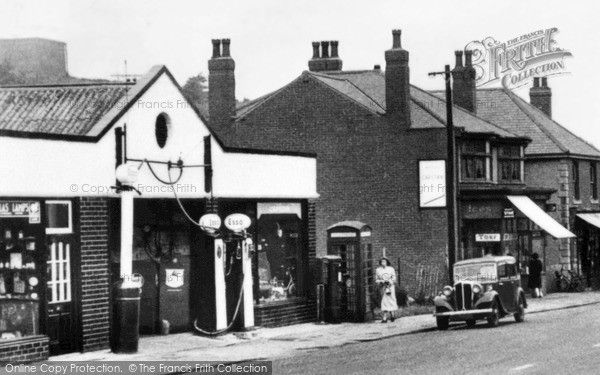 Photo of Langwith, c1950