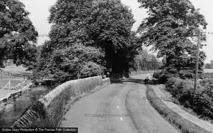 Photo of Langwith, Cotton Mill Lane c.1955